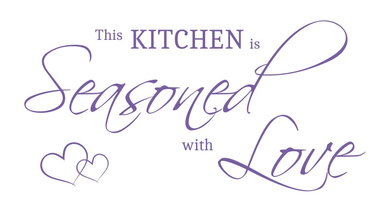 Cytat 089 This kitchen is seasoned with love